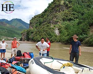 River Rafting Tacheng-Jinsha River