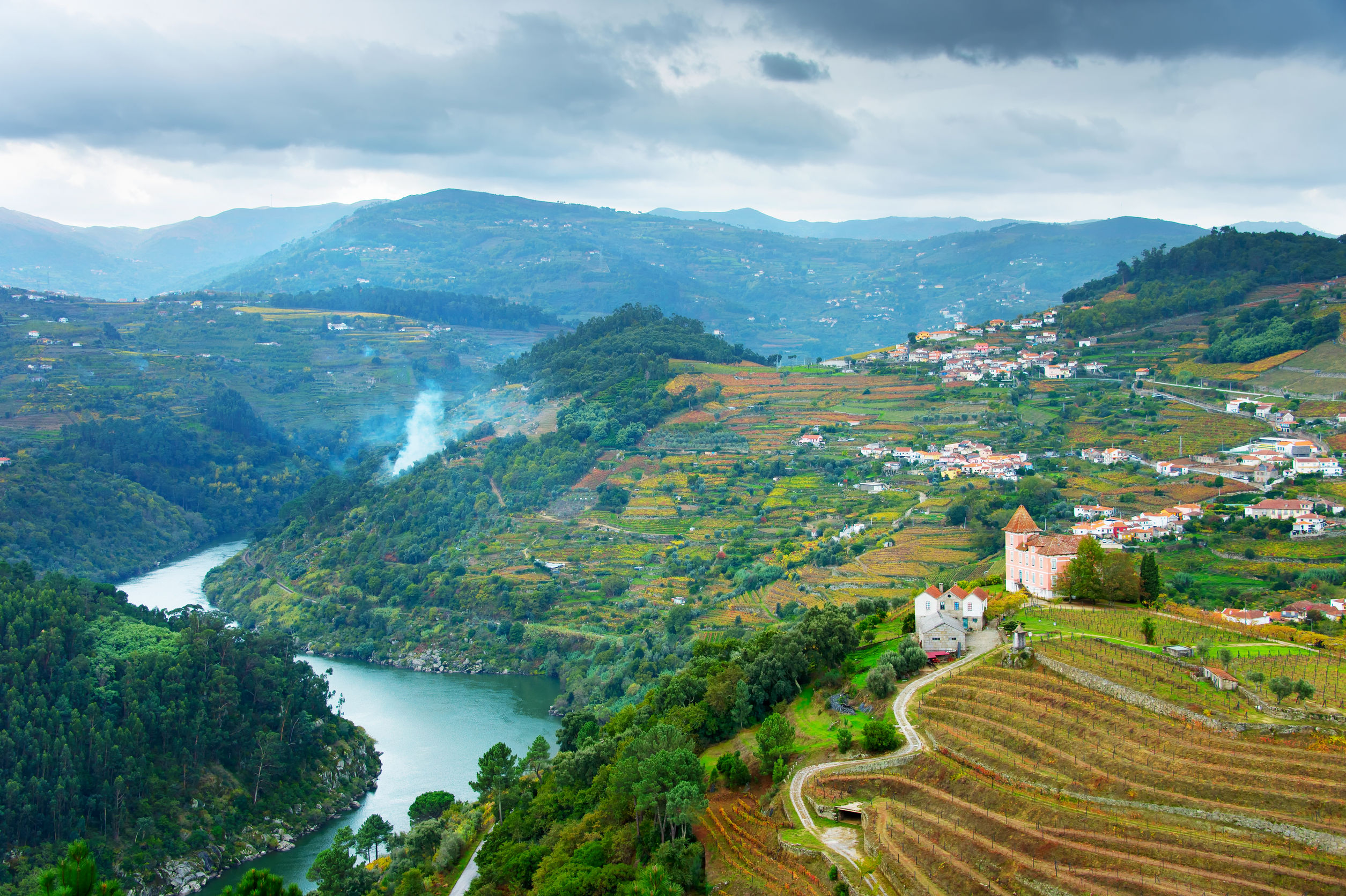 Travel to Douro Valley Wine Country