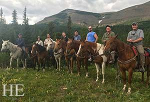 To East Glacier for Horseback Riding and the Grand Glacier Park Lodge