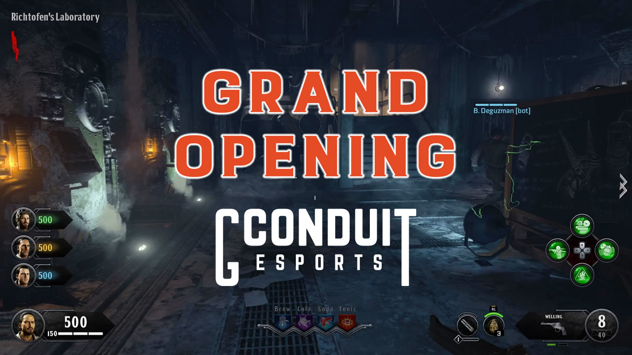 Grand Opening for GConduit eSports