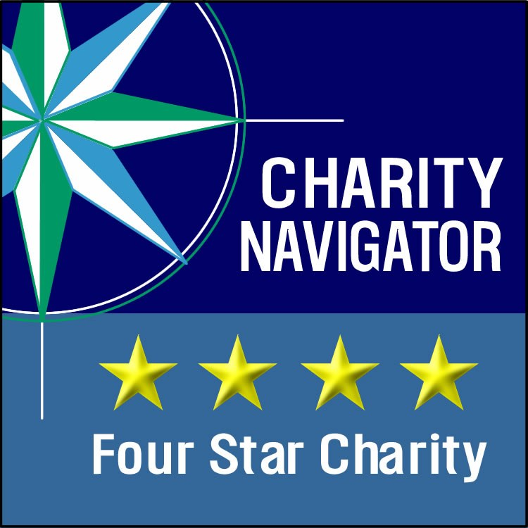 Charity Navigator 4-Star Seal