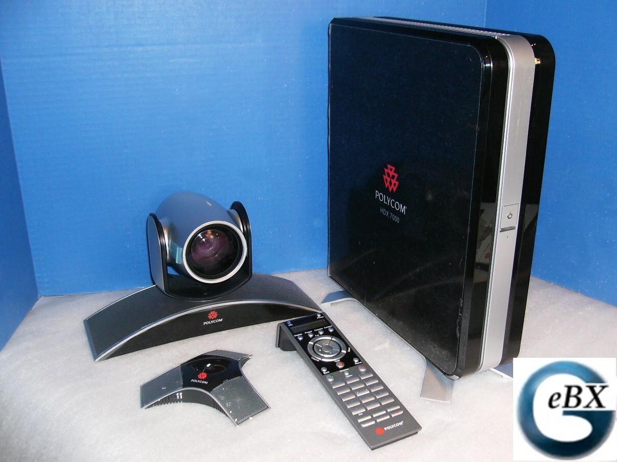 Eagle Eye Mptz-6 Camera Mp Polycom Hdx 7000 Ntsc Mic /& Cables Remote