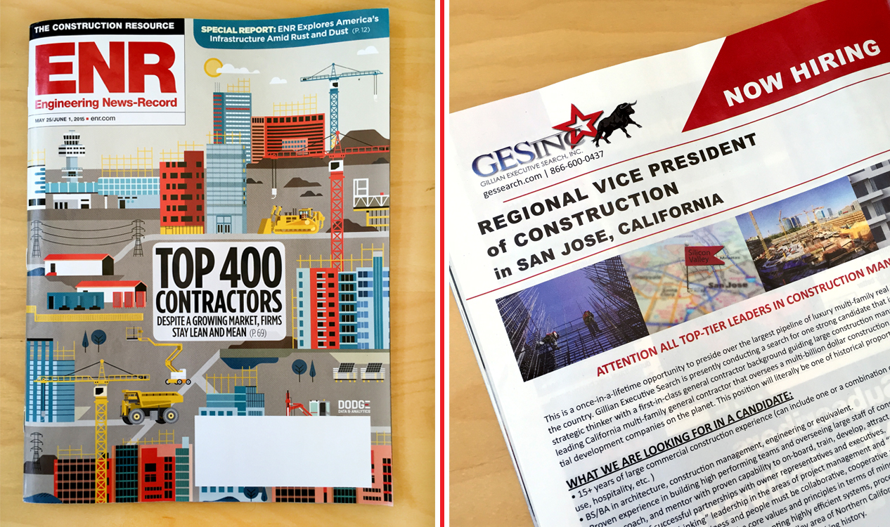 "We're in ENR's ""TOP 400 CONTRACTORS"" Issue!"