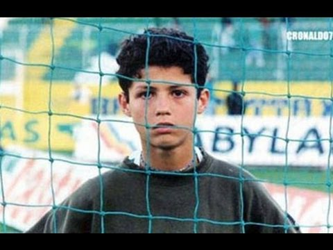 Ronaldo Childhood Photo