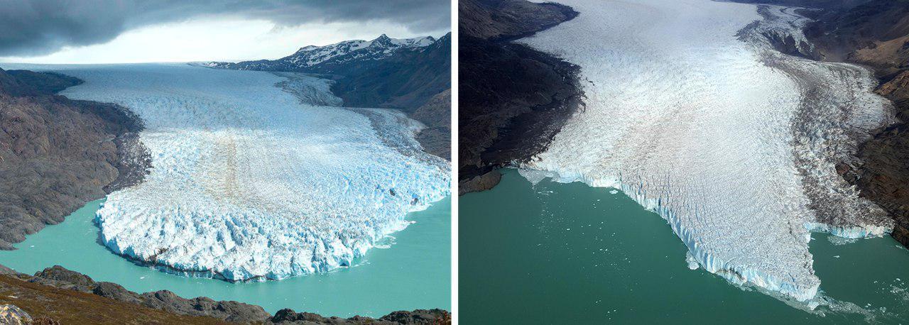 Glaciar O'Higgins y el #10YearsChallenger