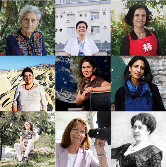 Mujeres chilenas pioneras en el mundo científico y medioambiental