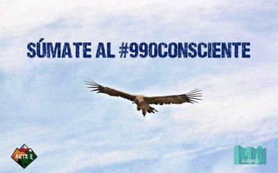 #990Consciente: Finaliza 1ª campaña con Ruta 5