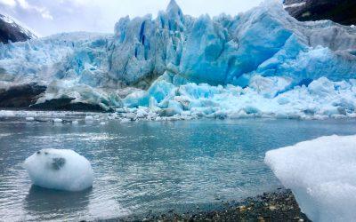 Los glaciares Serrano en la Región de Magallanes