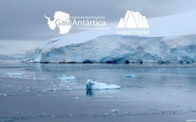 Acuerdo de colaboración Centro de Investigación GAIA Antártica – Glaciares Chilenos