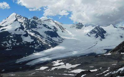 Glaciares en el valle del Río Olivares: Un tesoro de hielo en la Región Metropolitana