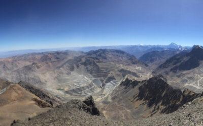 Grave error de la Minera Anglo American revela cómo se afectarían glaciares de Santiago