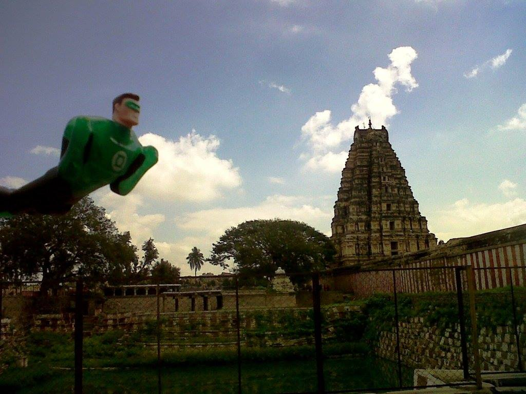 Green Lantern Virupaksha temple
