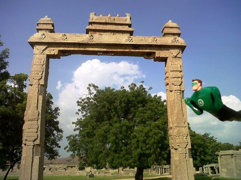 green lantern hampi arch