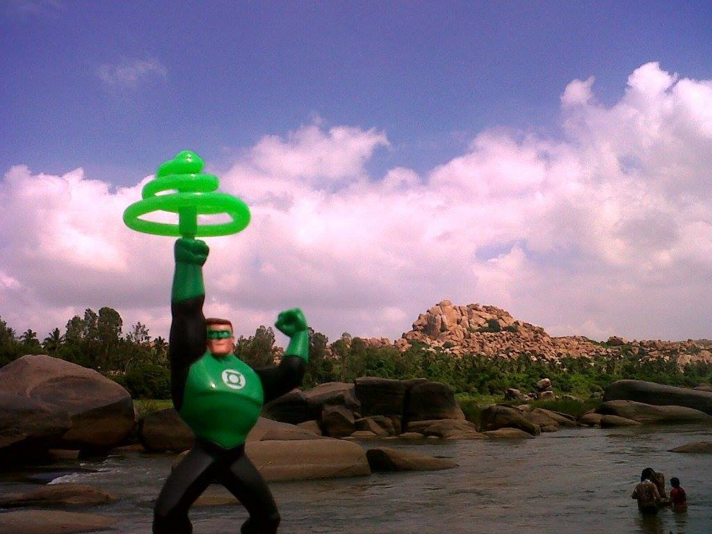green lantern hampi rocks