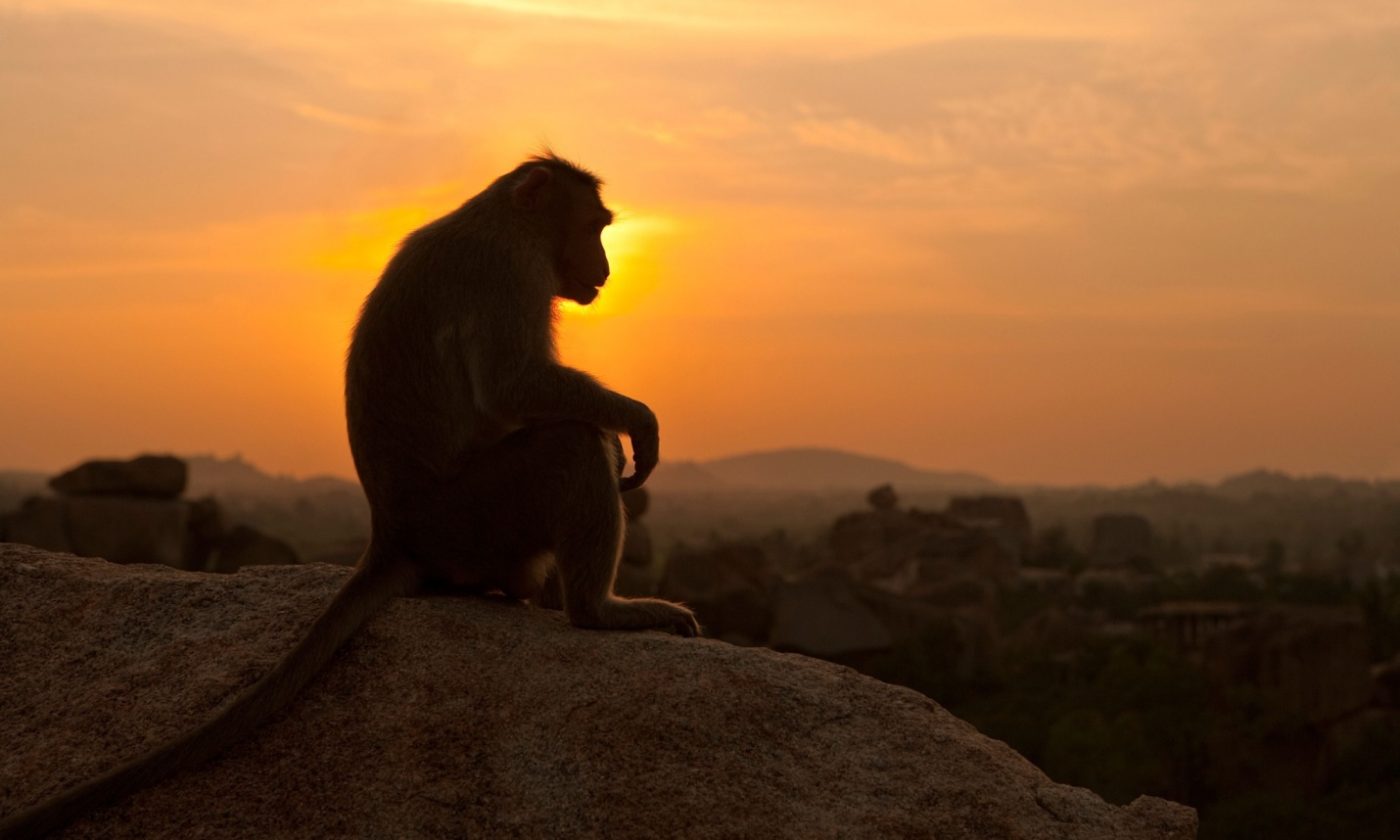 Sunset at Hampi - Hemakunta Hill