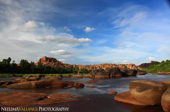 Tungabadra River Hampi