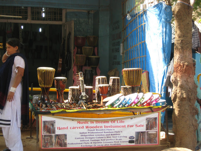 Musical Instruments at Hampi
