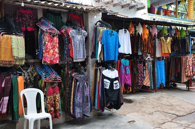 Shopping at Hampi