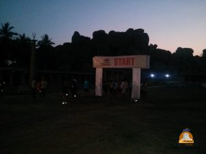 A pre dawn start for the 21k