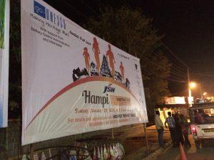 Billboard at Shanbag circle Hospet