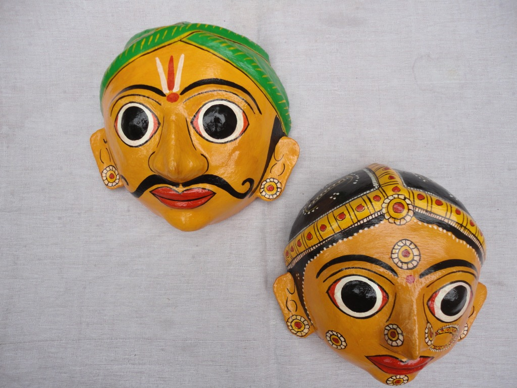 The Cheriyal Dolls from Warangal PC: Indya4u.com