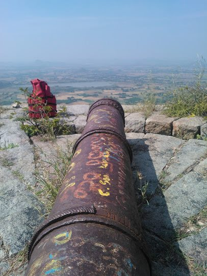 ghanpur fort cannon