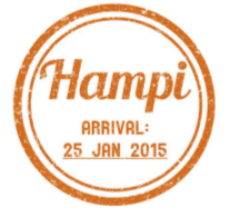 GHR Hampi Passport Stamp