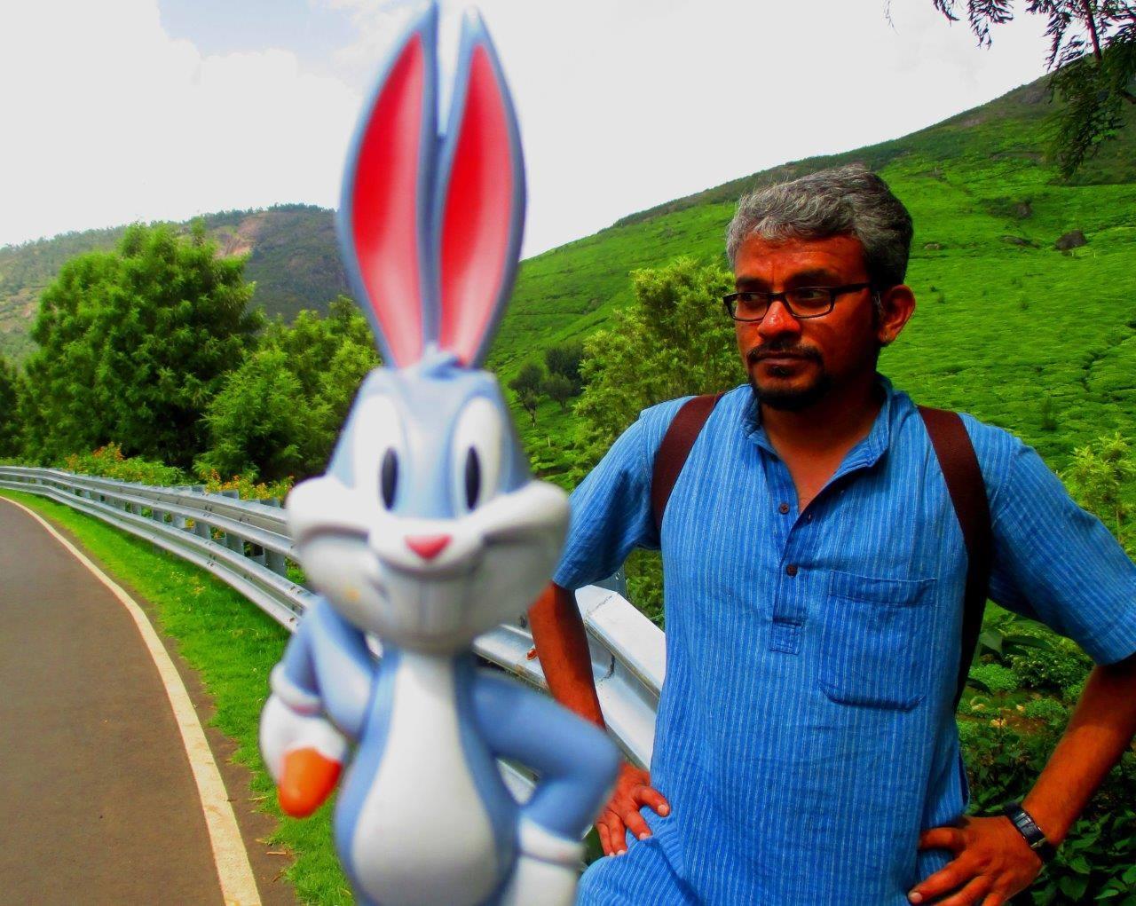Bugs bunny meets a stranger