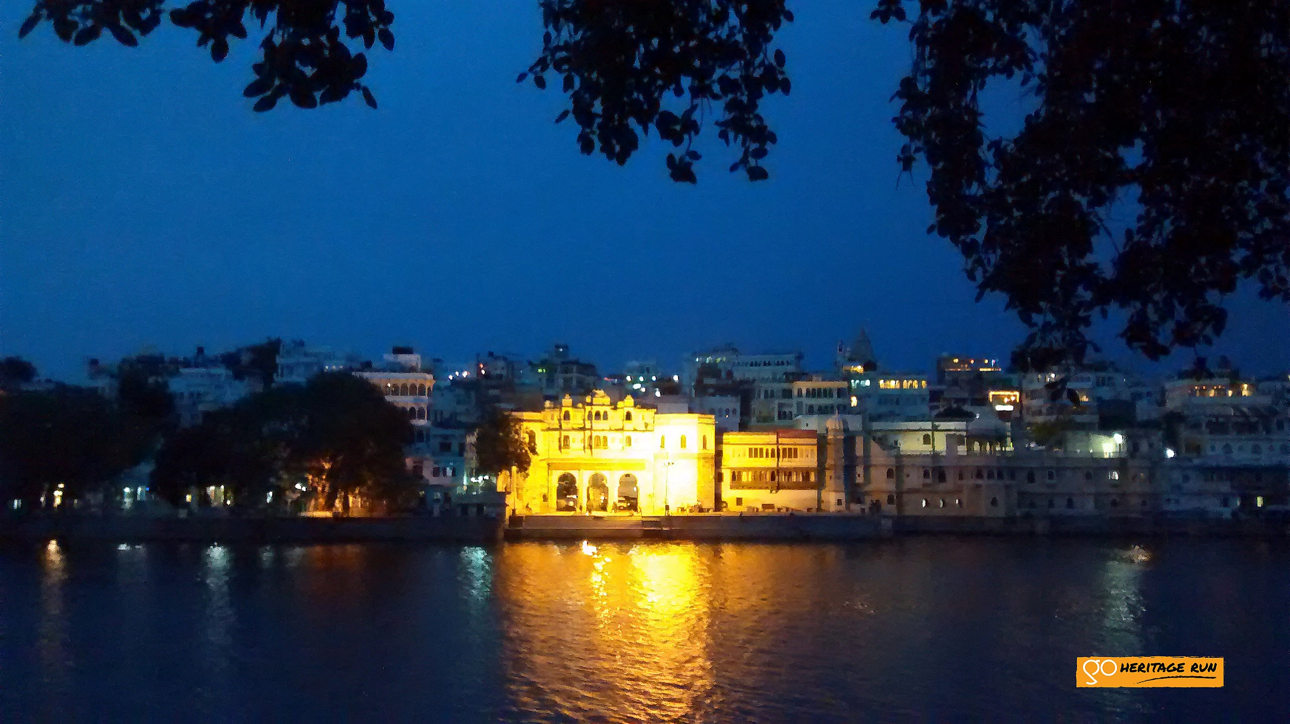 Bagor haveli from Ambrai ghat