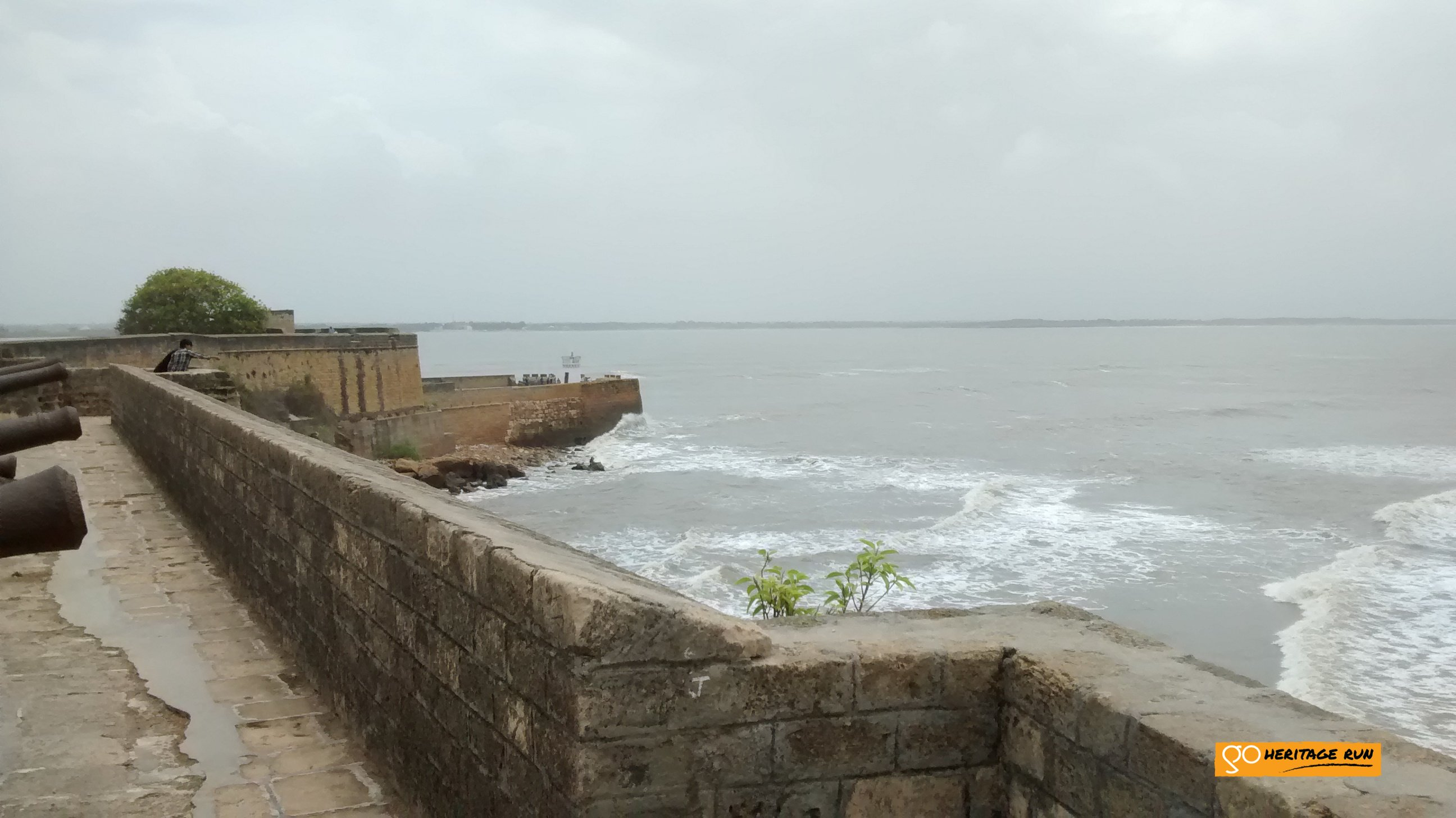 Ramparts of the Diu fort
