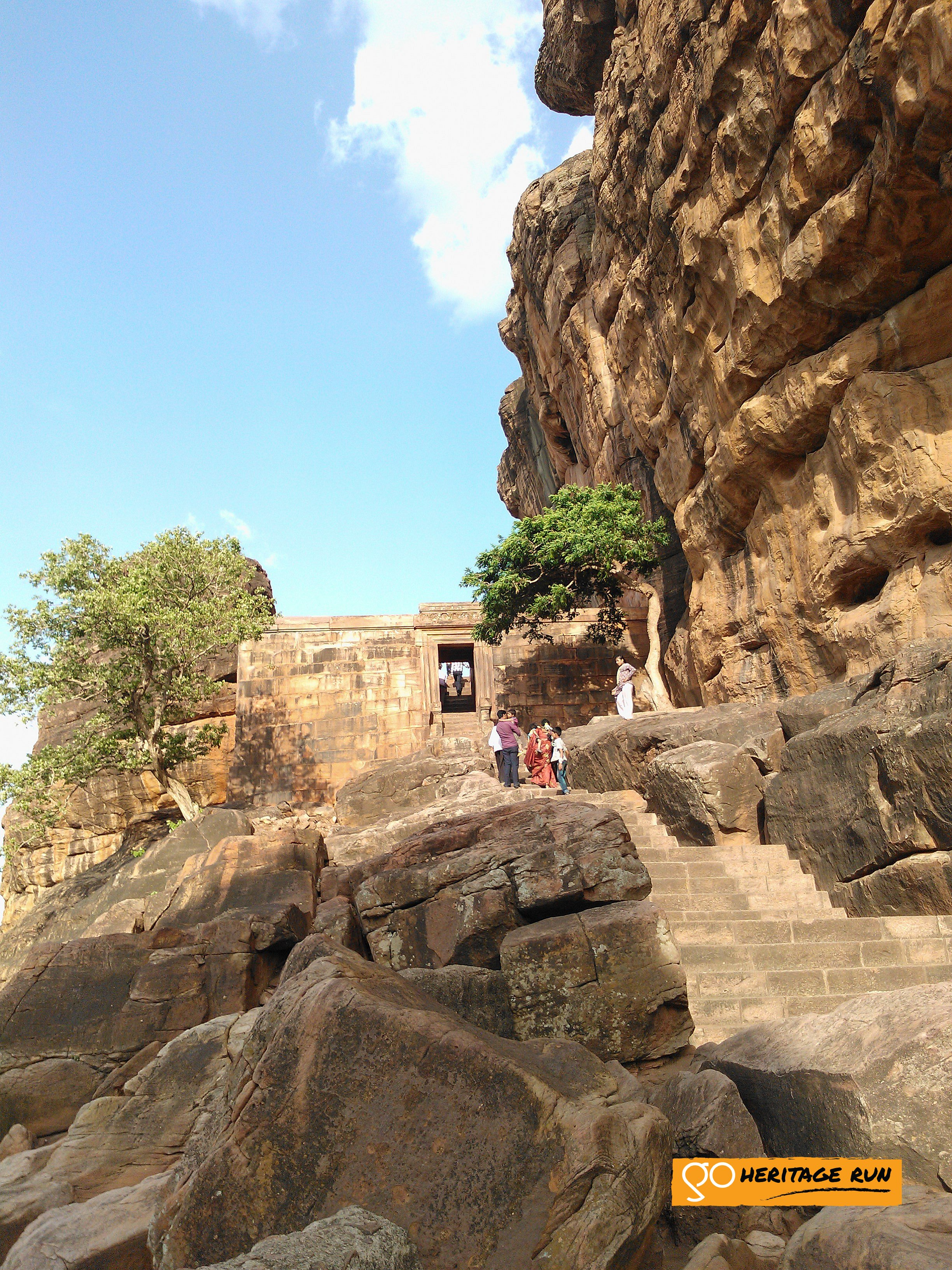 Badami Stony Path Temple