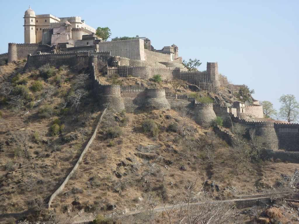 The wonderful Kumbhalgarh Fort