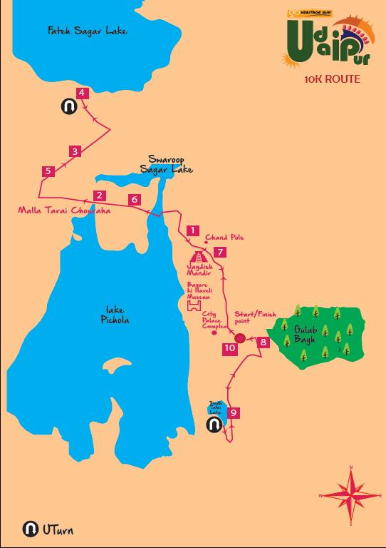 10K Route
