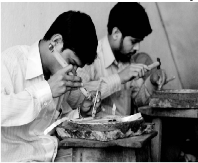 Bidriware artisans Picture Courtesy: Shirin Jaini from NIFT