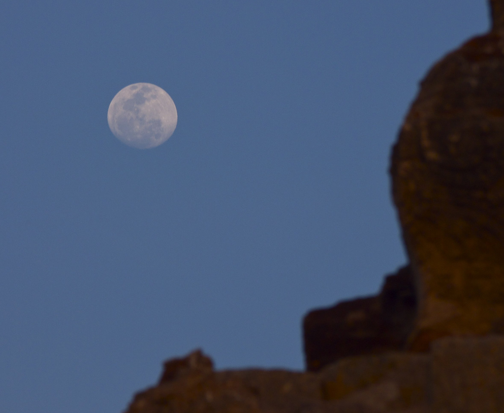 Moon in Hampi-Matt Feifarek