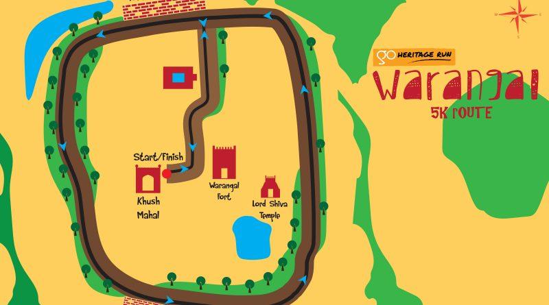 Go Heritage Run Warangal 5K
