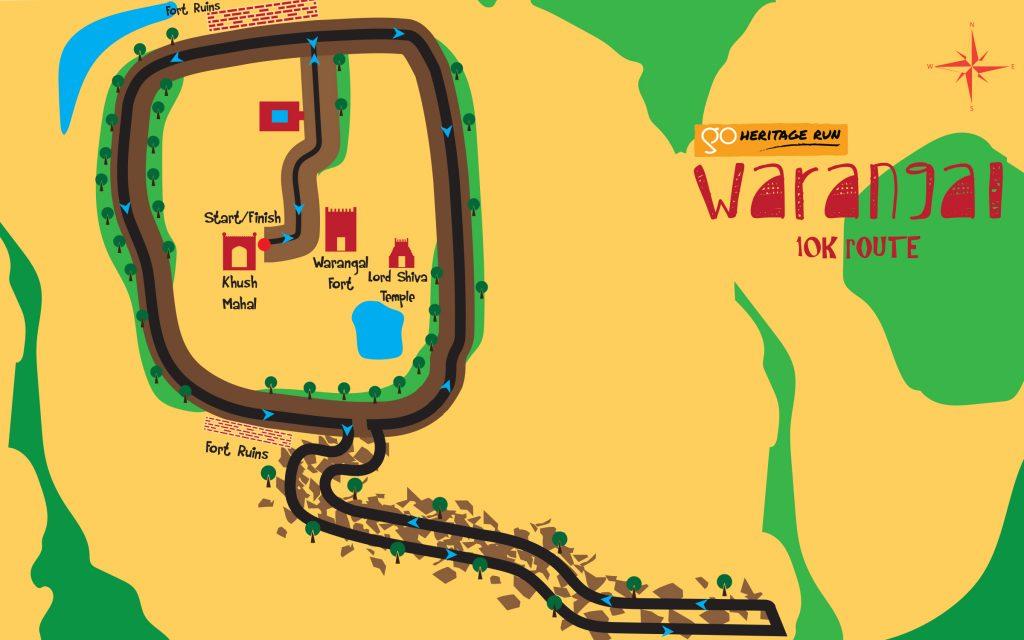 Go Heritage Run Warangal 10K
