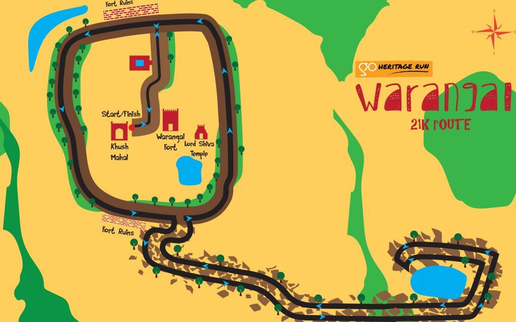 Go Heritage Run Warangal 21K