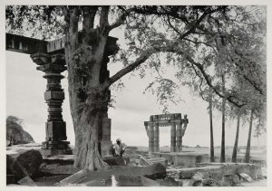 One of the gates of Warangal Fort, a photograph by Alfred Nawrath, 1938 Source: ebay, Jan 2007
