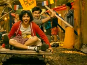 A still from popular film Barfi