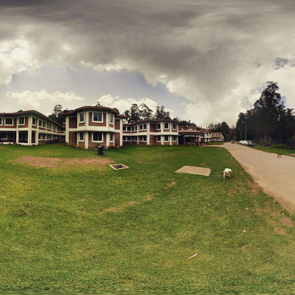 The Venue at the Go Heritage Run in Ooty