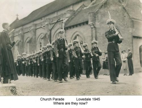 Church Parade 1945 Picture Courtesy: telstra1980