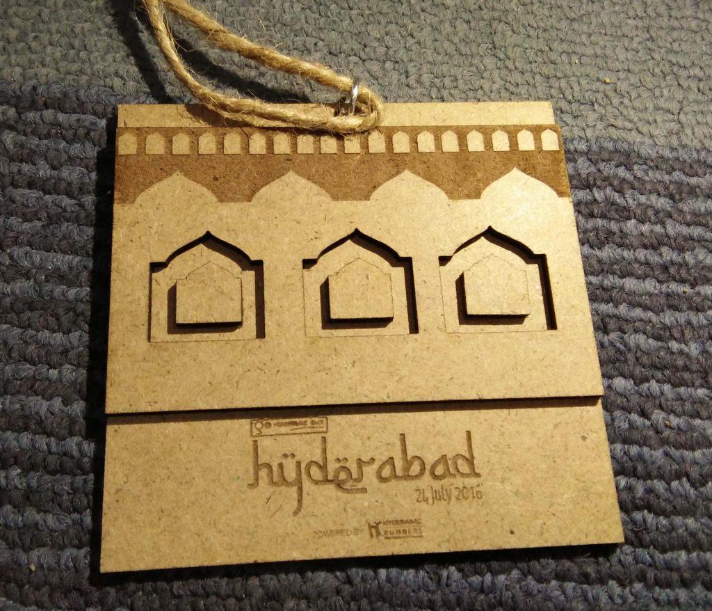 GHR Hyderabad 2016 Medal