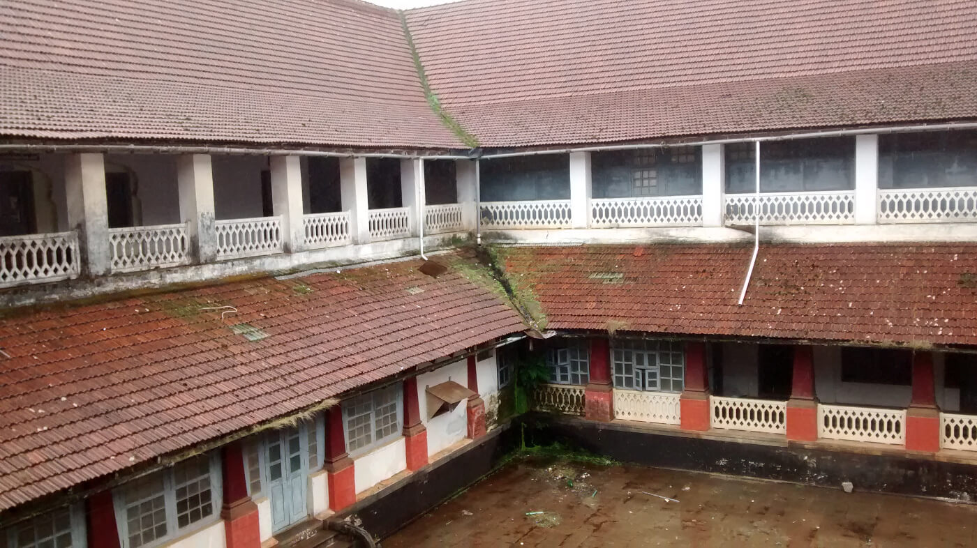 Inside the Madikeri fort complex