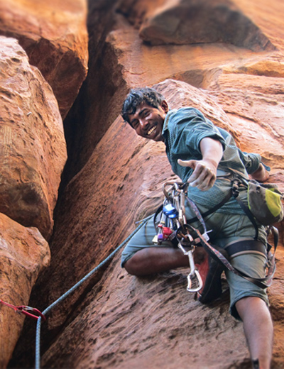 climbing badami ganesh