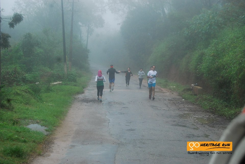 Coorg Run route