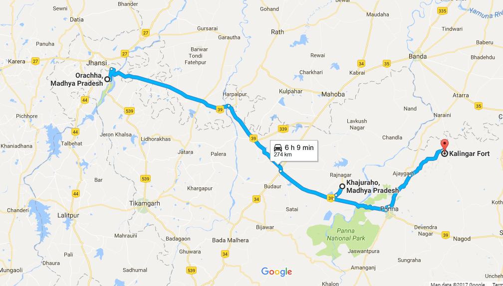 Khajuraho itinerary