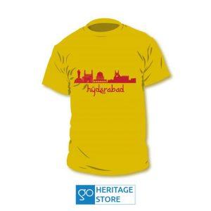 Hyderabad Landmarks Running T-shirt