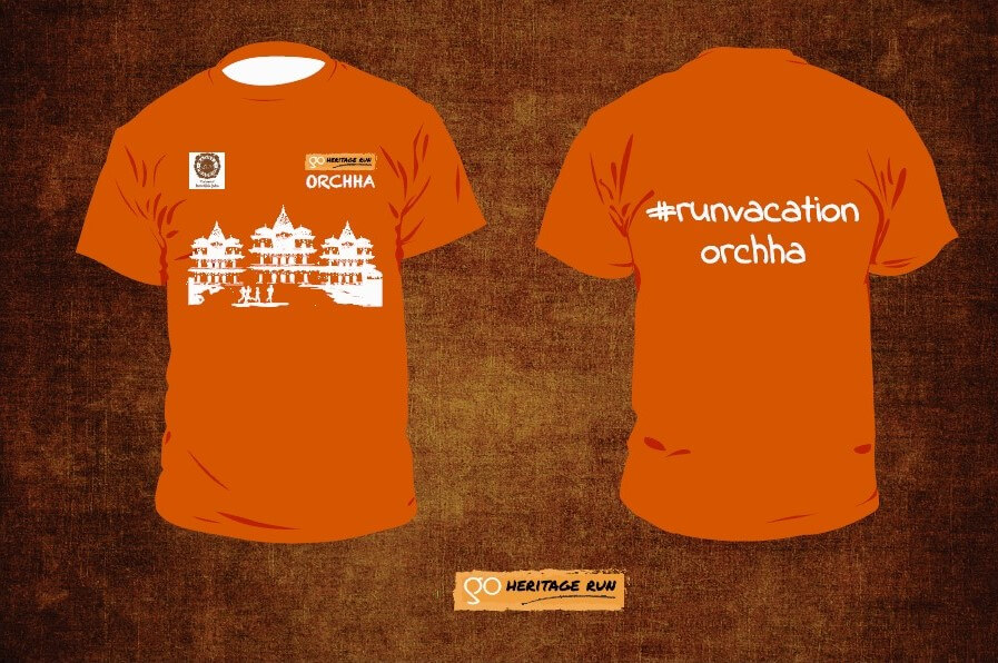 Orchha 2017 Run T-shirt