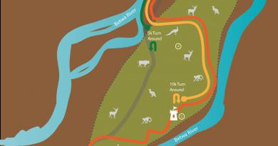 GHR Orchha Run Routes